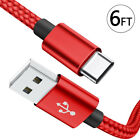 Samsung Galaxy S9 Plus S9 Note 8 USB-C Type C Charging Sync Cord Charger Cable