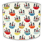 Yachting Lampshades, Ideal To Match Nautical Maritime Sailing Cushions & Covers