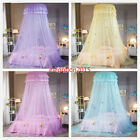 Lace Bed Mosquito Netting Mesh Canopy Girls Round Dome Princess Bedding Net image