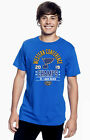 St. Louis Blues 2019 NHL Western Conference Champs Men's T- Shirt $24.99 USD on eBay