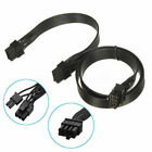60cm 18AWG Video Graphics Card Power Cable 8Pin Male to Dual 8Pin(6+2)Male PCI-E