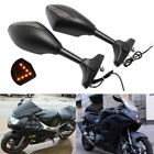 LED Turn Signals Motorcycle Mirrors For Suzuki Hayabusa sv650s/1000s gsx750f MT $28.7 USD on eBay