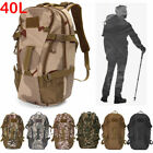 Camping Travel Rucksack Waterproof Mountaineering Outdoor Backpack Hiking Bag US