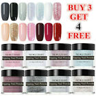 10ml NICOLE DIARY Nail Art Dipping Powder Glitter Dip System Liquid Starter Kit
