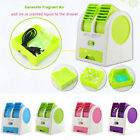 Mini Desktop ICE Air Conditioner Fan Desk Cooling Portable Cooler Rechargeable