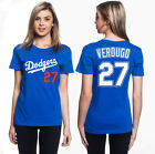 Alex Verdugo Los Angeles Dodgers #27 MLB Jersey Style Women's Graphic TShirt on Ebay