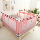 Vertical lift Bed Rails Wall for Baby Child Toddlers Sturdy Safety Bed Guard Net