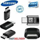 Genuine Samsung USB-C To Micro USB Converter Charging Adapter For Galaxy Phones