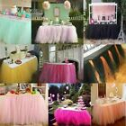 Внешний вид - Table Party Wedding Skirt Tutu New Birthday Multicolored Decoration