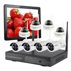 8 Channels Wireless Home Security System 720P Cameras Hard Drive 15