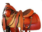 16 17 DEEP SEAT WESTERN ROPING SADDLE HORSE TRAIL RIDING PLEASURE REINING TACK