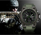 Men's Military Watches Outdoor Sports Electronic Tactical Army LED Stopwatch image