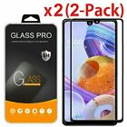 2x Full Coverage Tempered Glass Screen Protector For LG Stylo 4 5 6 Plus Stylus