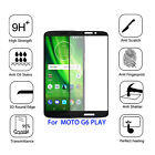 For Motorola Moto G6 Play FULL COVER Real Tempered Glass Screen Protector 2.5D