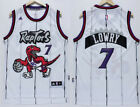 New Men's Toronto Raptors #7 Kyle Lowry Basketball Jersey mesh retro white on eBay