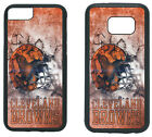 CLEVELAND BROWNS PHONE CASE COVER FITS iPHONE 7 8+ XS MAX SAMSUNG S10 S9 S8 S7 $13.5 USD on eBay