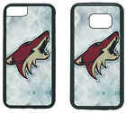 ARIZONA COYOTES PHONE CASE COVER FITS iPHONE 7 8+ XS MAX SAMSUNG S10 S9 S8 S7 S6 $13.5 USD on eBay