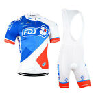 Mens Team Cycling Bib Shorts Cycling Jersey Bib Shorts Set Cycling Jersey