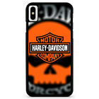 Skull Harley Davidson For iPhone 6/6s 7 8 Plus X/XS Max Xr Phone Case $15.9 USD on eBay