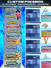 Kyпить ALL 807 Custom Pokemon Shiny Bundle 6IV for XY, ORAS, Ultra Sun/Moon , Sun/Moon на еВаy.соm