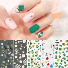 Nail Stickers Transfer Decals Cute Cactus Heart Image Nail Art Tips Decorations