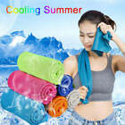 Instant Cooling Towel ICE Cold Golf Jogging Gym Workout Fitness Sports Outdoor image