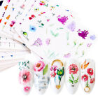 Nail Water Decals Butterfly Cactus Patterns Transfer Sticker Nail Art Decoration