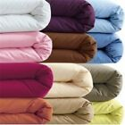 All Solid Colors & Sizes 3 Pcs Duvet Set Choose It 1000 TC 100% Egyptian Cotton image