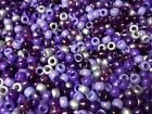 100, 500, 1000 or 5000 Mixed Purple Pony Beads, DUMMY CLIPS,HAIR BRADING