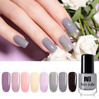 NEE JOLIE 3.5ml Nail Polish Shining Grey Series Nail Art Varnish Tips 18 Colors