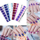 Nail Wraps Gradient Full Cover Adhesive Transfer Sticker Decoration for Nail Art
