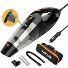 HOTOR Corded Car Vacuum Cleaner With LED Light, DC12-Volt Wet/Dry Portable NEW