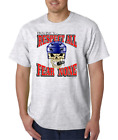 Gildan Short Sleeve T-shirt Hockey Respect All Fear None