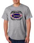 First Name Gildan Cotton T-shirt Jesse Vintage Aged To Perfection