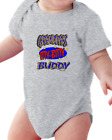 Infant Creeper Bodysuit T-shirt Grandpa's Itty Bitty Buddy