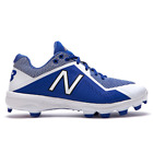 New Balance Men's PL4040D4 Low Molded Baseball Cleats Shoes - Royal/White
