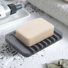 Kyпить Flexible Bathroom Silicone Soap Dish Storage Holder Soapbox Plate Tray Drain Box на еВаy.соm