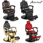 Metal Vintage Heavy Duty Barber Chair Salon Beauty Purpose Equipment 2 Colors