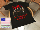 Korn_t_Shirt_North_American_Tour 2019 USA SIZE S-5XL UNISEX image