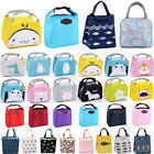 Women Kids Insulated Lunch Bag Thermal Cooler Picnic Food Box Tote Carry Bags Us