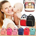 Dot Print Big Large Backpacks Mommy Maternity Bags Travel Baby Care Diaper Nigh