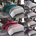 Duvet Cover Bedding Set Quilt Covers Pillow Cases Single Double King Queen Size image