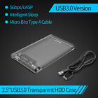 "ORICO USB C 3.1 Hard Drive Enclosure Type C to TypeC External 2.5"" HDD Case UASP"