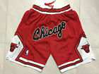NWT Stitched Chicago Bulls NBA Basketball Shorts Men's Pants on eBay