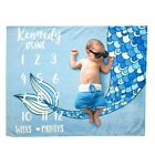Newborn Baby Number Milestone Photography Blanket Photo Props Backdrop Cloth
