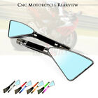 Aluminum Triangle Rearview Side Mirror Fit For YAMAHA MT10 MT09 MT07 MT03 MT25