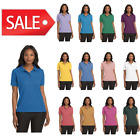 Womens Silk Touch Golf Polo Shirt L500 Port Authority