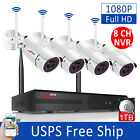 ANRAN 1080P 8CH Home Security Camera System Outdoor with 1TB Hard Drive HDMI 2MP
