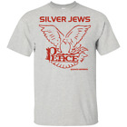 New T-Shirt 2019 David Berman Silver Jews Peace Logo Vintage Tee Black MEN S-5XL image