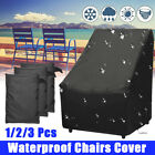 Waterproof Outdoor Patio Chair Cover Garden Furniture Cover Shelter Protector Au